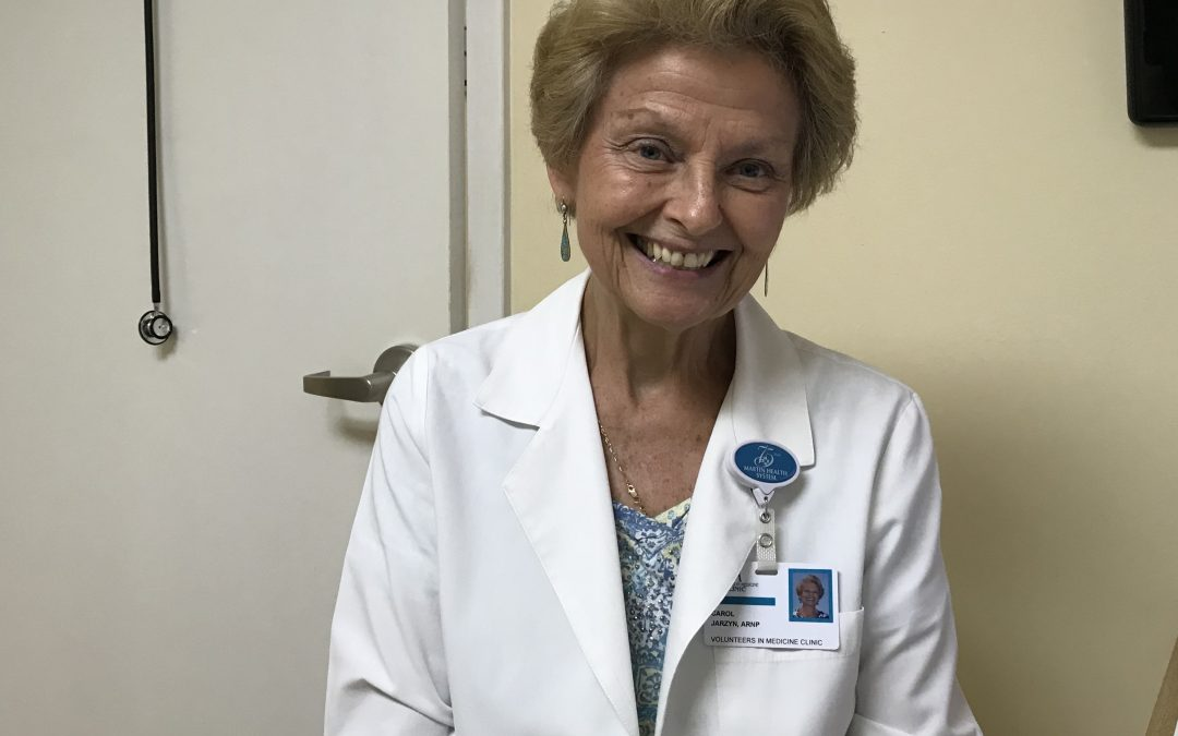 Carol Jarzyn, ARNP, gives advice for Men's Health Month