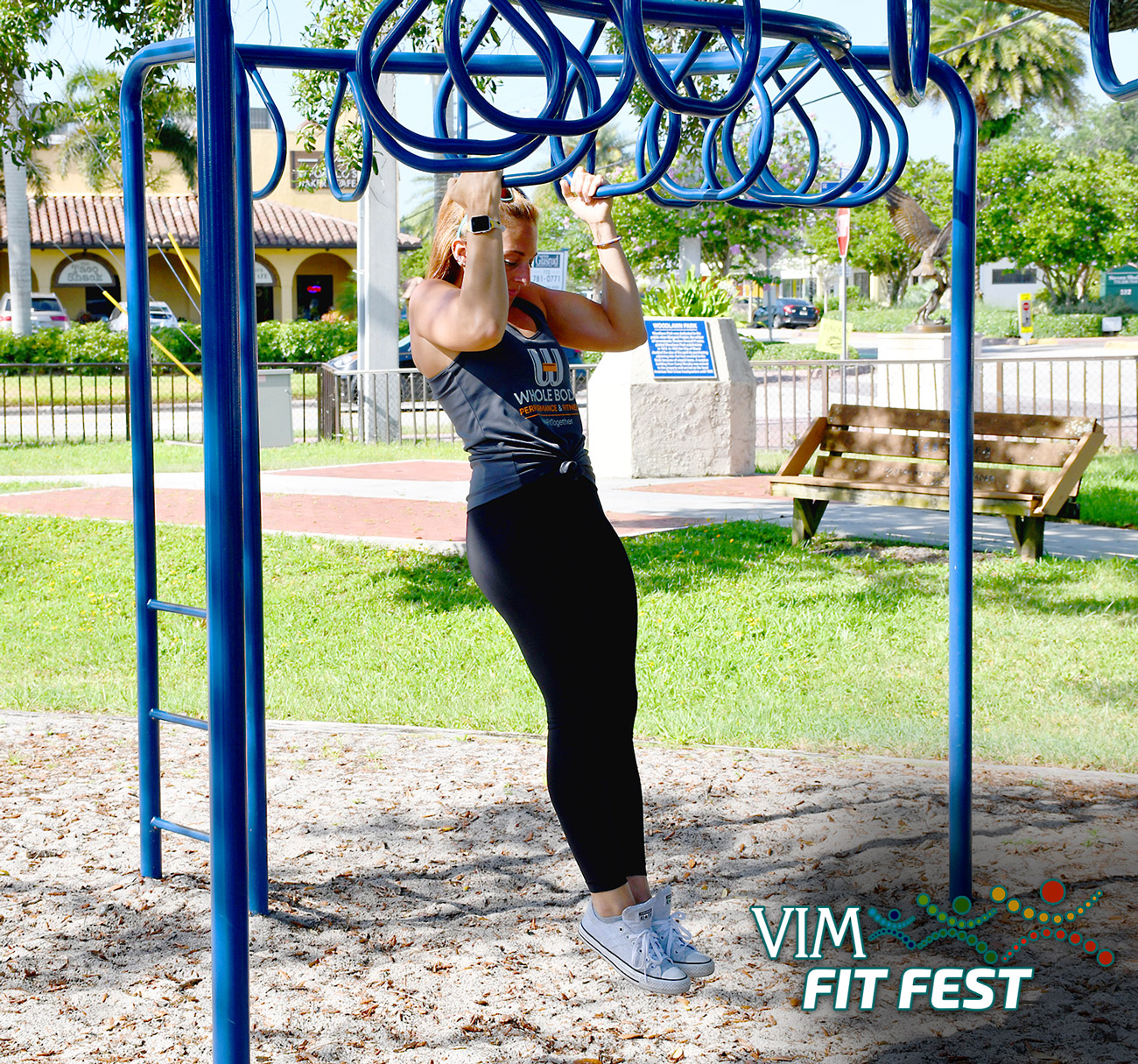 #VIMFITFEST Welcome to Week 4 of VIM Fit Fest, a virtual wellness experience celebrating Volunteers in Medicine (VIM) Clinic's 25th Anniversary! We've amped up the challenge this week with Amanda Michel from Whole Body Performance and Fitness. She'll lead us through the workout at Kiwanis Park in downtown Stuart.