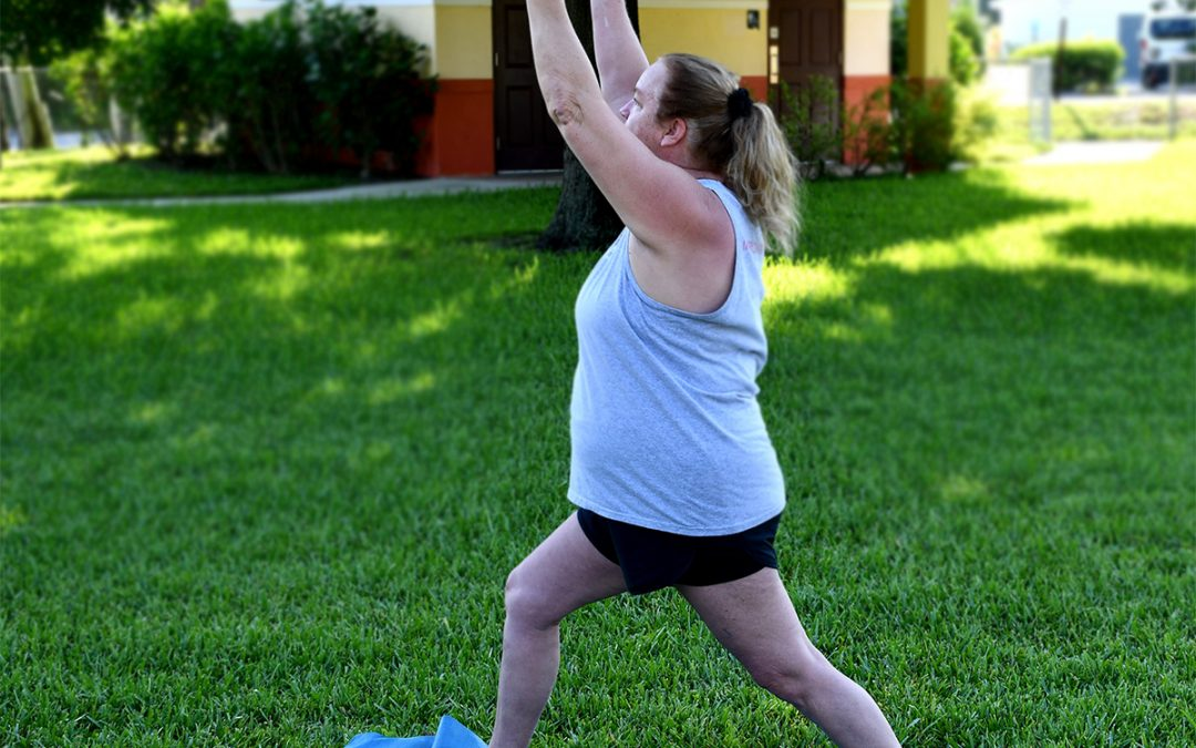 VIM Fit Fest Week 03 at Martin Luther King Park – Yoga with Joanie